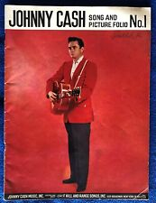 Johnny Cash song and picture folio #1, Sheet music and pictures from 1959