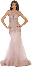 STUNNING PROM EVENING GOWN PAGEANT SPECIAL OCCASION RED CARPET FORMAL GALA DRESS