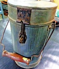 Vitg tin Can Pail Canister Container storage Cylinder shape Lock Handle India