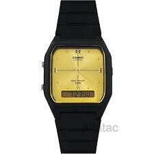 Casio AW48HE-9AV Men's Casual Classic Analog & Digital 50M Dual Time Watch