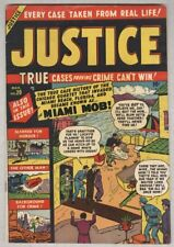 Justice #20 March 1951 VG/FN