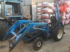 Mitsubishi MT180HMD Compact tractor C/W front loader & backhoe