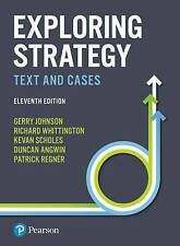 Exploring Strategy by Richard Whittington, Gerry Johnson, Kevan Scholes, Patrick