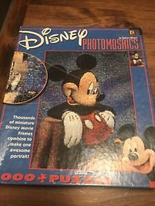 Disney Mickey Mouse Photomosaics Jigsaw Puzzle by Rob Silvers 1000 Piece