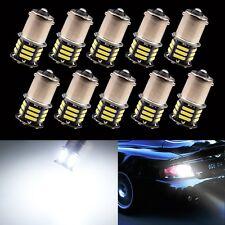 10Pcs 1156 BA15S 7014 21SMD Reverse Brake Turn Tail Back Up LED Light Bulb White