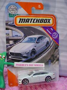 2020 Matchbox 2019 MERCEDES-BENZ AMG GT 63 S #44 ☆white☆MBX HIGHWAY☆Metal
