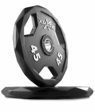 XMark Black Diamond 45 lb 90 Lb Total Olympic Plate Set Pair - High Quality