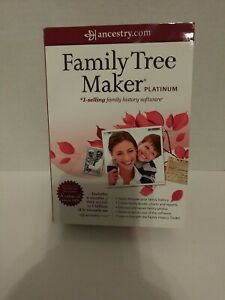 Family Tree Maker Platinum (2011) with Companion Guide, Toolkit DVD New B1