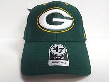 Green Bay Packers 47 Brand Cap Hook & Loop Adjustable Audible MVP Hat NFL