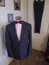 """KENNETH COLE Reaction Men's Grey 2-Piece Suit C40"""" Regular W33"""" L32"""" Classic Fit"""