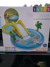 Gatorland niño piscina inflable con tobogán & Pulverizador Kiddie Verano