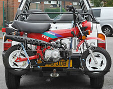 """Transport Rack for 10"""" Wheel (Zinc Plated) Honda Dax ST50 ST70 Chaly CF50 CF70"""