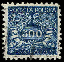 Scott # J30 - 1919 - ' Numerals of value ', For Southern Poland