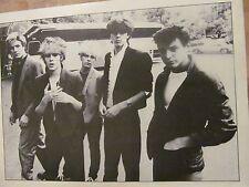 Duran Duran, Simon Le Bon, Double Full Page Vintage Pinup