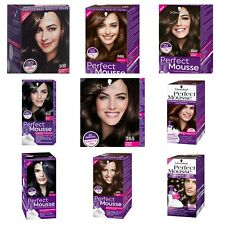 Genuine Schwarzkopf Perfect Mousse Permanent Hair Color NO Ammonia Foam No mess