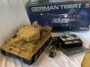 Heng long 1/16  RC German Tiger 1 early Tank custom paint