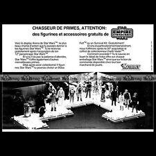 STAR WARS 'Arena' Figurines Kenner Clipper (1982) Pub Publicité Advert Ad #B603
