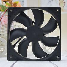 Brushless 2 Pin Cooling Fan  Heat sink Marine 12V DC 120mm X 25mmPC CPU UK
