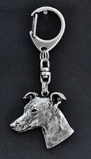 Whippet, Kleiner Englischer Windhund Schlüsselanhänger ART-DOG, Limited Edition