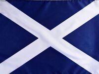 3ft x 2ft 100d Navy Blue Scottish Saltire St Andrew Scotland National Flag