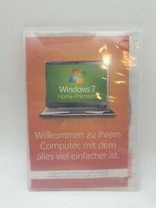 Windows 7 Home Premium 32bit  Betriebssystem (DVD), top Zustand
