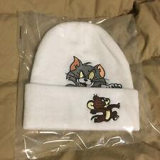 Supreme Tom and Jerry Beanie O/S White New Era Box Logo Camp Cap