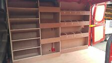 FORD Custom Van Racking SWB Van Plywood Racking Drill/Service Case Storage Shelf
