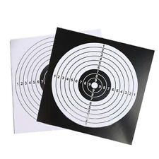 New Archery Target Paper Face for Arrow Bow Shooting Hunting Practice 50PCS SET