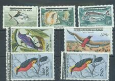More details for mali 1960 fish, birds sg.14-20 mh set of 7