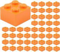 Brick 2x2 Orange Lego 3003-8x Briques 6223 35275 New Neuf