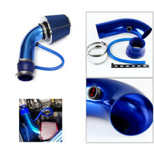 Universal Car Cold Air Intake Alumimum Kit Pipe Hose System Install Easily