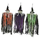 """3 Pack 35.3"""" Hanging Witch with Bendable Arms, Halloween Indoor and Outdoor"""