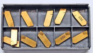 11 Stück Wendeschneidplatten Wendeplatten Stechplatten ISCAR GIM 3.2-8RA IC656