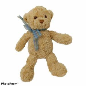 "Vintage Gund Stuffed Teddy Bear Plush Small 9"" Abbott 15036"