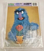 Vintage Sesame Street Herry Golden Frame Tray Puzzle - Complete Used