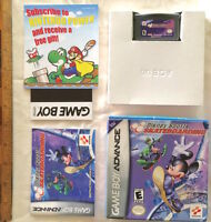 NINTENDO GAMEBOY ADVANCE GBA DISNEY SPORTS SKATEBOARDING GAME BOXED COMPLETE EXC