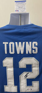 Karl Anthony Towns Kentucky Wildcats Autographed Nike Elite Jersey PSA/DNA Cert
