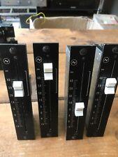Vintage años 70 Neve BBC P&G Faders 1520A/C1 x4 Consola Mezcladora