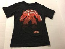 Boys Tee Shirt Size Medium 8 Black Red