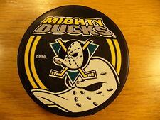 c40436654 NHL Anaheim Mighty Ducks 90 s Shadow Series Souvenir Hockey Puck Collect  Pucks
