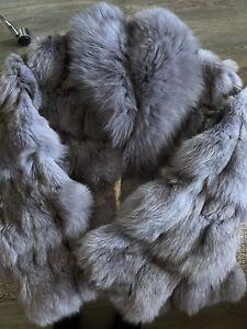 Real Fox Fur Jacket