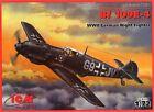 MESSERSCHMITT Bf-109 E-4 NACHTJAGER (LUFTWAFFE MARKINGS) 1/72 ICM