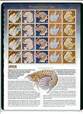 S104 # MALAYSIA SHEETLET (NORMAL) - 2000 DRAGON YEAR