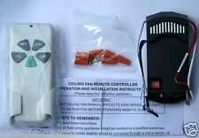 NEW Ceiling Fan Remote Control kit for CFL light bulbs
