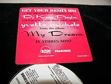 "Yvette Michele D.J. Keep Playin' 12"" Single NM PROMO Loud RDAB-65361-1 1997"