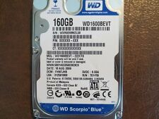 """WD WD1600BEVT-22ZCT0 (See list for DCM's & Exact details) 160gb 2.5"""" Sata HDD"""