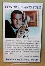 """GET SMART """"CONTROL Wants You!"""" 11x17 Poster"""