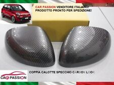 Caps Mirror Fiat 500L Cinquecento L-Shaped Pair Effect Carbon Rear View