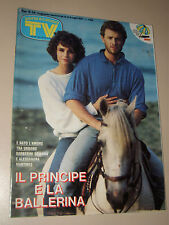 TV SORRISI CANZONI=1987/28=ALESSANDRA MARTINES=ENRICO RUGGERI=ROSITA CELENTANO=