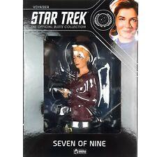 More details for star trek voyager collectors busts seven of nine bust figure eaglemoss #6